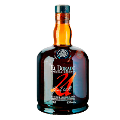 El Dorado 21 Años Special Reserve Spirits International